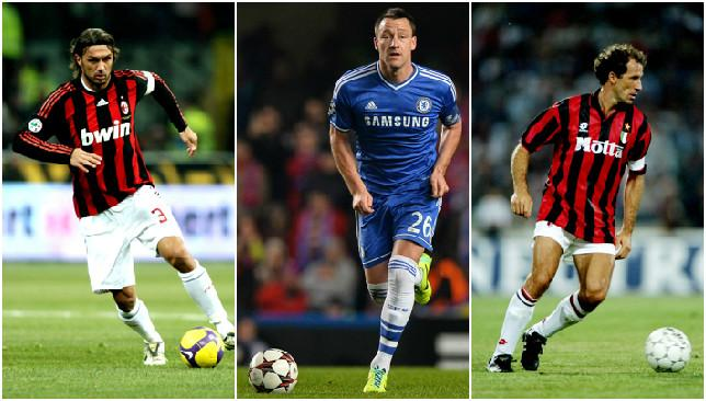 There is much about Terry to be likened to even the legendary figures of Maldini and Baresi.