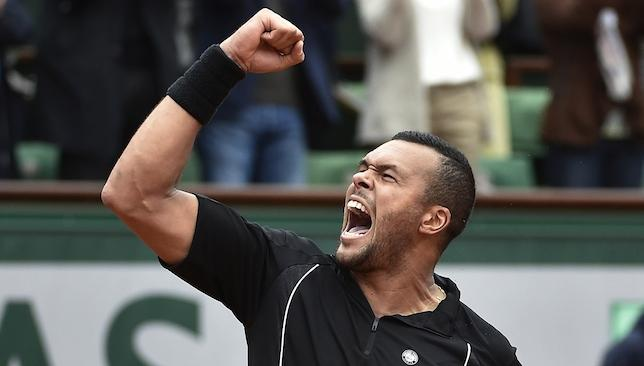 516851213 French Open round-up  Jo-Wilfried Tsonga shocks Tomas Berdych