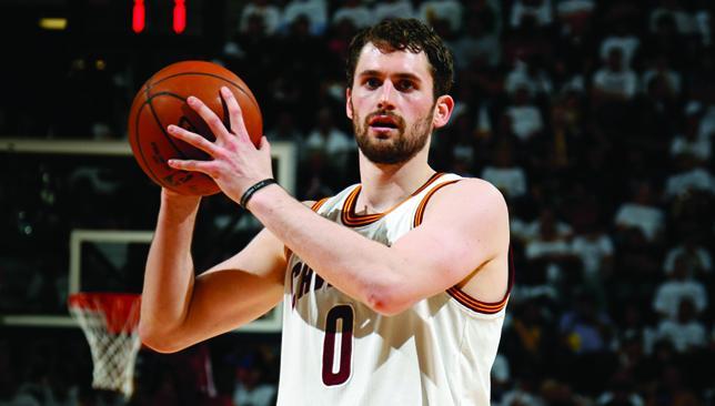 Cleveland man: Kevin Love.