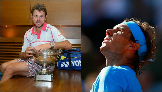 Wawrinka and Nadal seem a world apart after French Open.