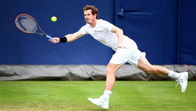 Confident: Andy Murray.