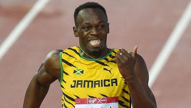 Bolt seeking treatment.