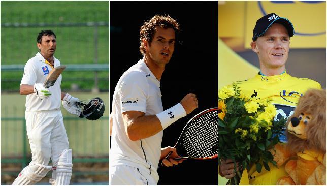 Snapshot: Sri Lanka v Pakistan, Wimbledon and Tour de France.