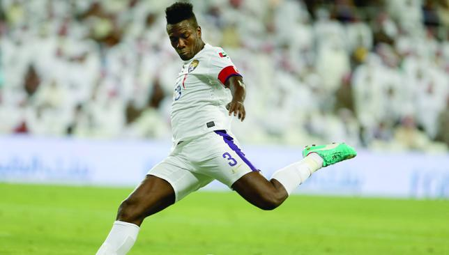 End of the road: Asamoah Gyan.