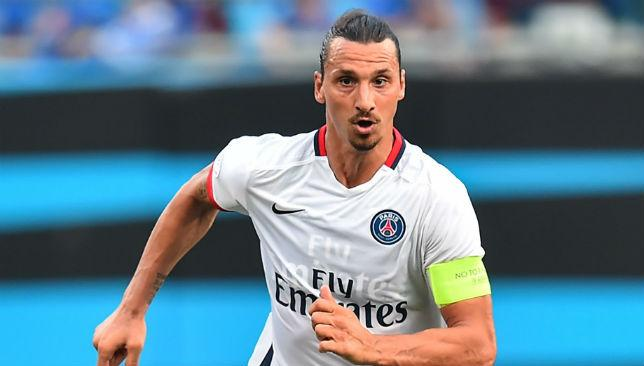 Zlatan Ibrahimovic was among the goalscorers as PSG clinched a 2-0 victory over United.