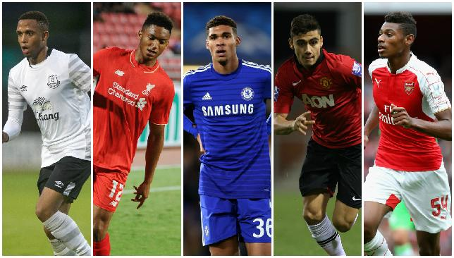Hottest prospects in the Premier League this season.