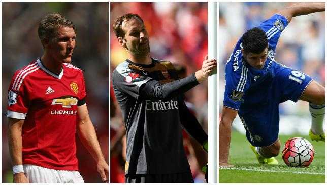 Opening day blues: The EPL title contenders were unconvincing.