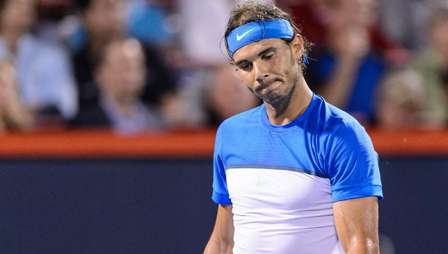 Disappointing: Rafa Nadal is out of Montreal Masters.