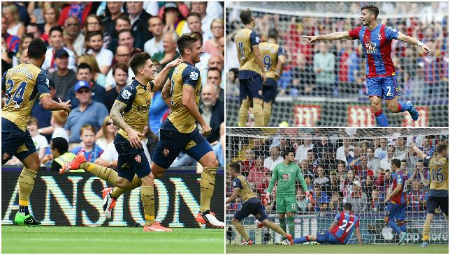 Arsenal secured their first win of the season.
