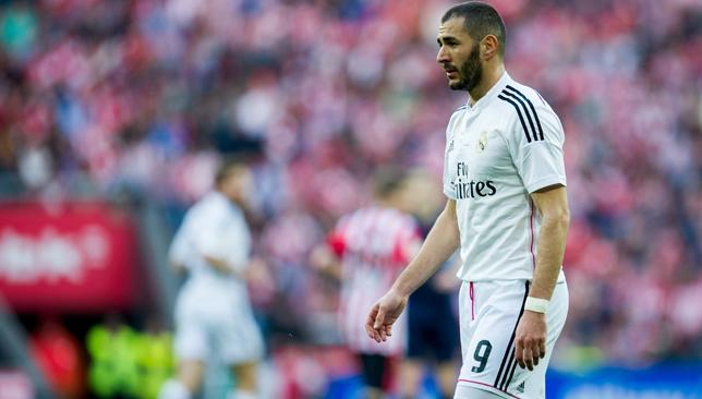 Karim Benzema back in training at Real Madrid and has no ...