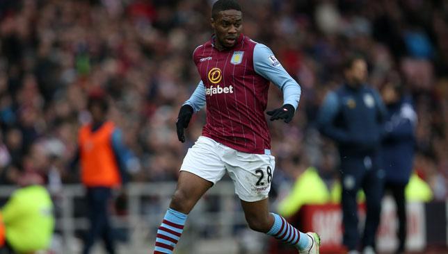 N'Zogbia hasn't featured for Villa so far this season.