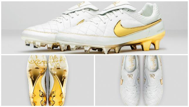 brand new e61cc 6c0a1 Touch of Gold - Nike Tiempo Legend boots.