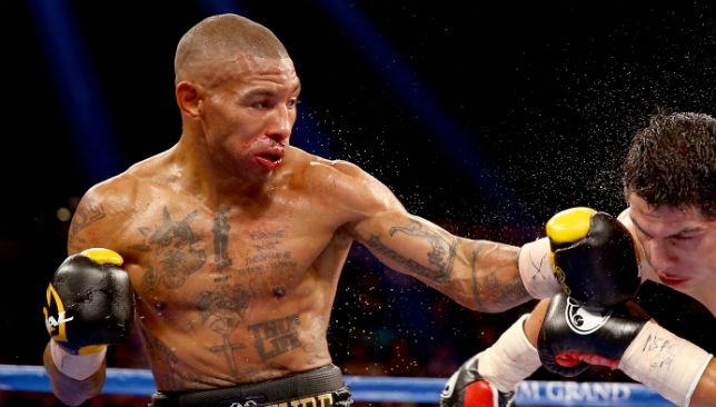 Ashley Theophane has been sparring with Floyd Mayweather.