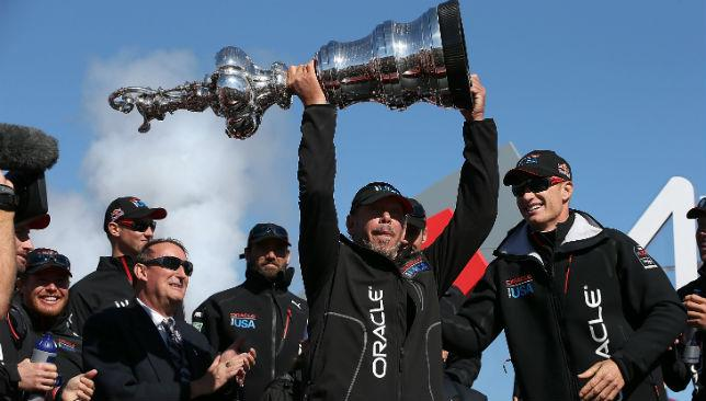 Team Oracle beat Emirates NZ by 44 seconds in a thrilling finale.