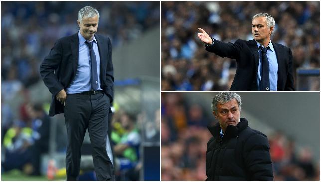 Under pressure: Jose Mourinho.