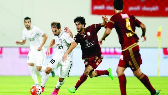 Forging ahead: Al Ahli.