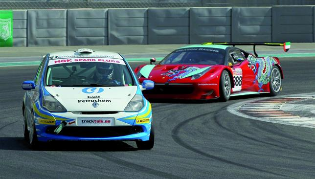 Eclectic mix: NGK Racing Series.