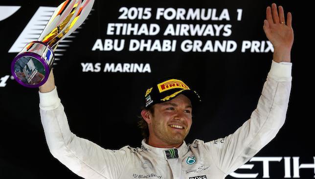 Stunning form: Nico Rosberg.