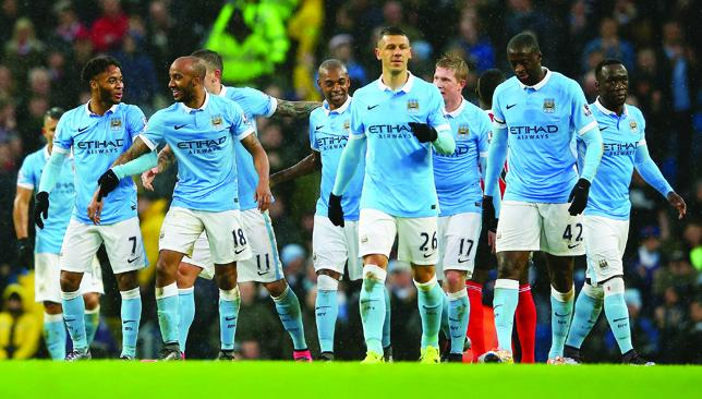 New investors: Manchester City.
