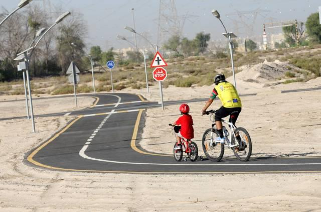 Nad Al Sheba Cycle Path
